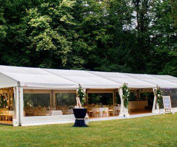 Tendas para casamentos ao ar livre